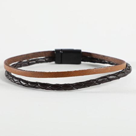 Black Needle - Bracelet BBN-329 Marron
