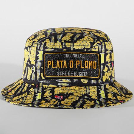 Classic Series - Bob Plata O Plomo Print Jaune Noir