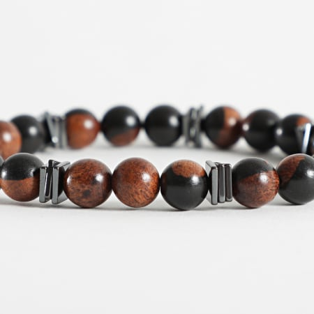 Black Needle - Bracelet BBN-369 Marron