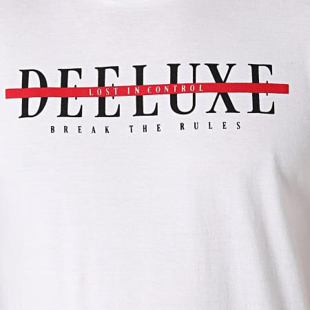 Deeluxe - Tee Shirt A Bandes Ralf Blanc