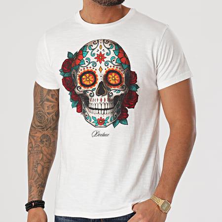 Deeluxe - Tee Shirt Calavera Ecru