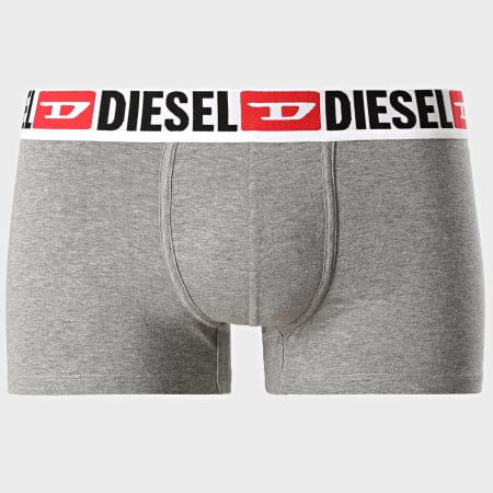 Diesel - Lot De 3 Boxers Damien 00ST3V-0DDAI Noir Blanc Gris Chiné