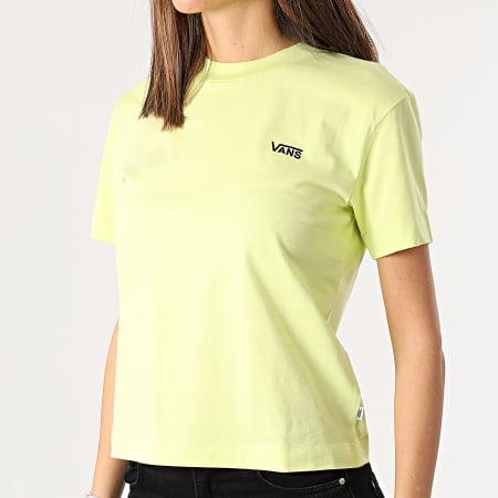 Vans - Tee Shirt Femme Junior V Boxy A4MFL Vert Clair