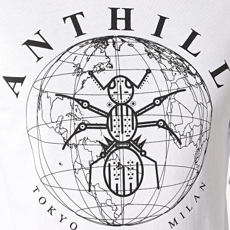 Anthill - Tee Shirt Manches Longues Logo Blanc