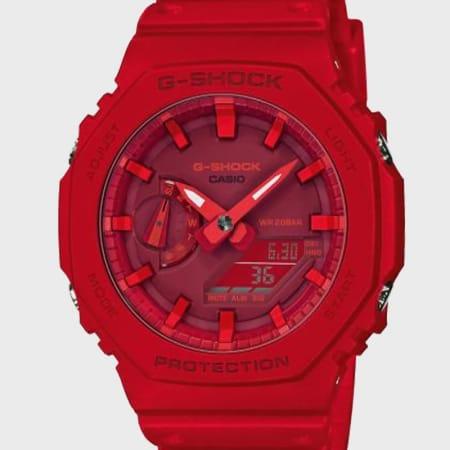 Casio - Montre G-Shock GA-2100-4AER Rouge