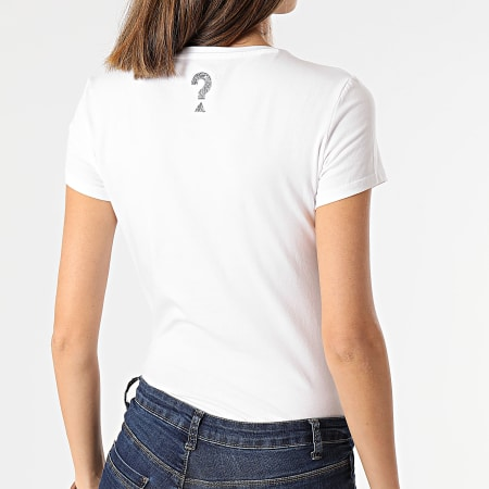 Guess - Tee Shirt Slim Femme W1RI9G-J1300 Blanc
