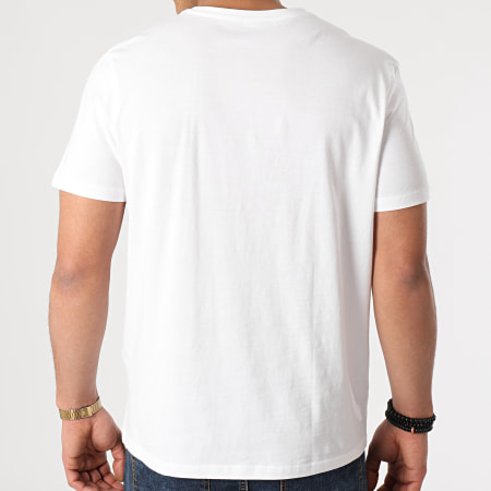 Tom Tailor - Lot De 2 Tee Shirts 1008638 Blanc