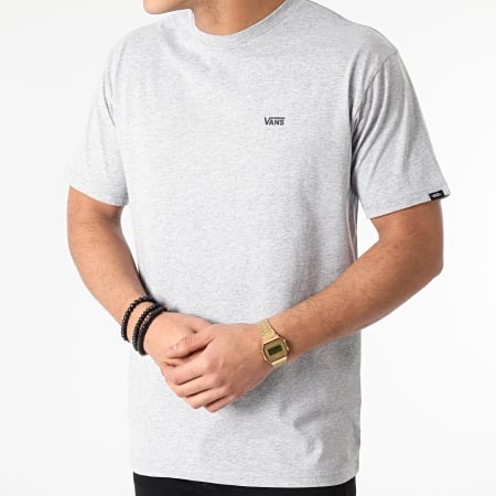 Vans - Tee Shirt Left Chest Logo A3CZEATH Gris Chiné