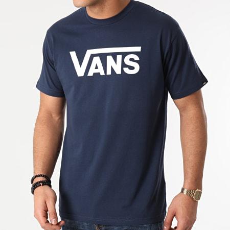 Vans - Tee Shirt Vans Classic GGG5S2 Bleu Marine
