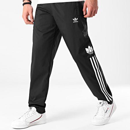 adidas - Pantalon Jogging A Bandes Trefoil 3 Stripes GN3543 Noir