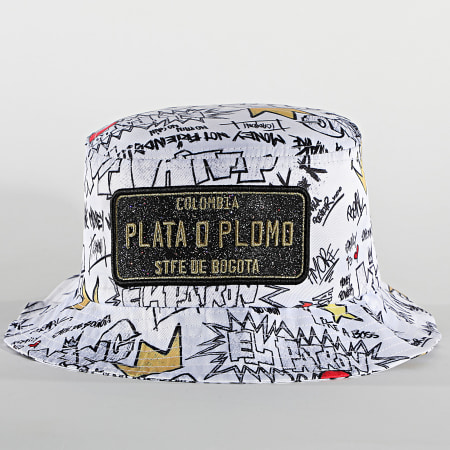 Classic Series - Bob Plata O Plomo Print Blanc Doré
