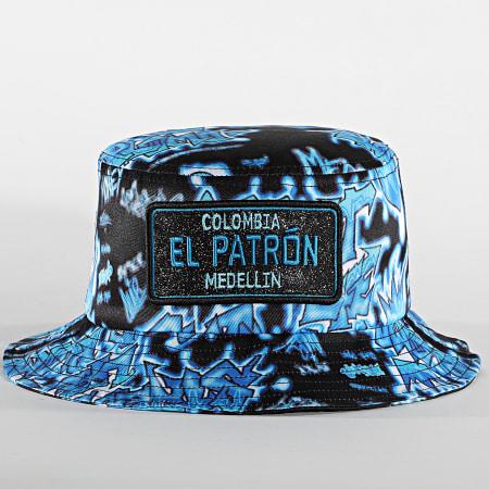 Classic Series - Bob El Patron Print Noir Bleu