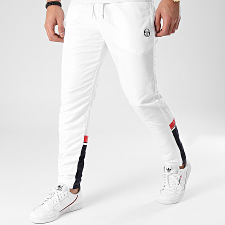 Sergio Tacchini - Pantalon Jogging Almond 39222 Blanc
