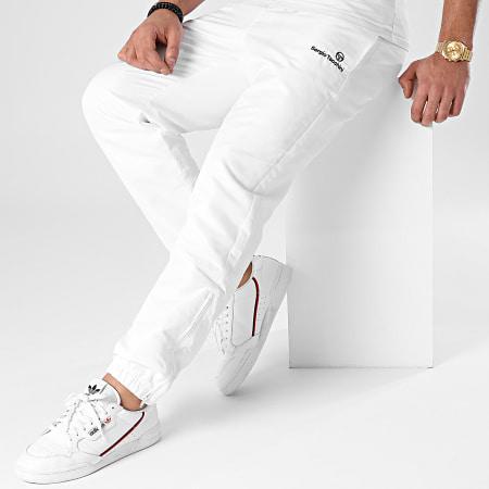Sergio Tacchini - Pantalon Jogging Carson 021 39171 Blanc