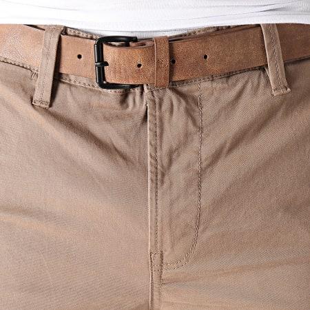 Tom Tailor - Pantalon Chino Slim 1008253 Marron