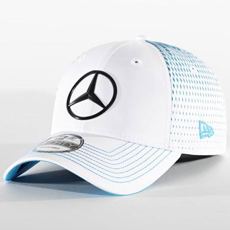 New Era - Casquette 9Forty Mercedes Benz Stoffel Replica 940 12651422 Blanc Bleu