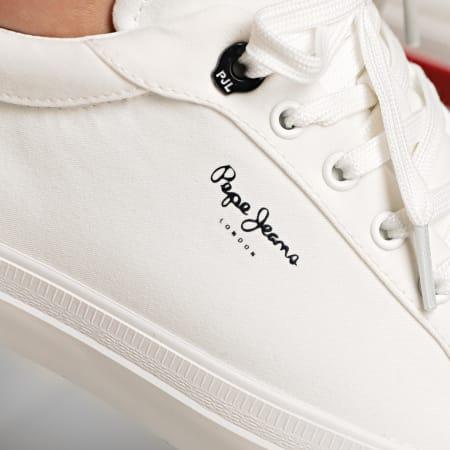 Pepe Jeans - Baskets Kenton Classic Twill PMS30699 White