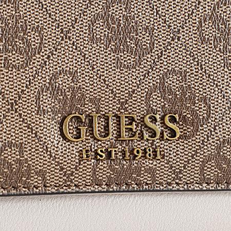 Guess - Portefeuille Femme SB796765 Marron Beige