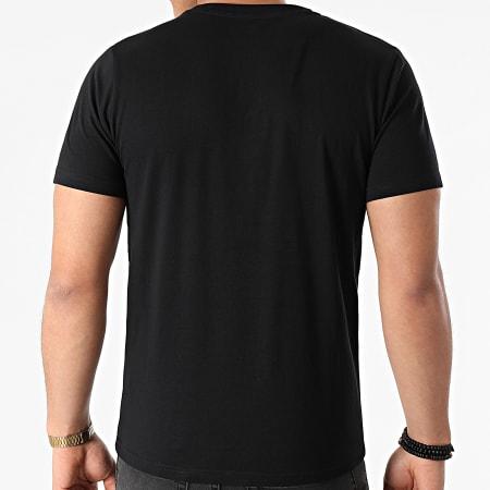 Kappa - Tee Shirt Logo Kouk 31175UW Noir Rouge