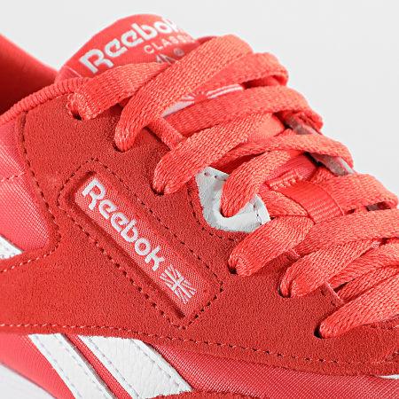 Reebok - Baskets Femme Classic Nylon FZ0818 Semi Orange Flare White