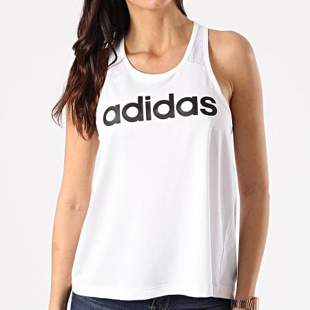 adidas - Débardeur Femme Design 2 Move Logo DU2064 Blanc