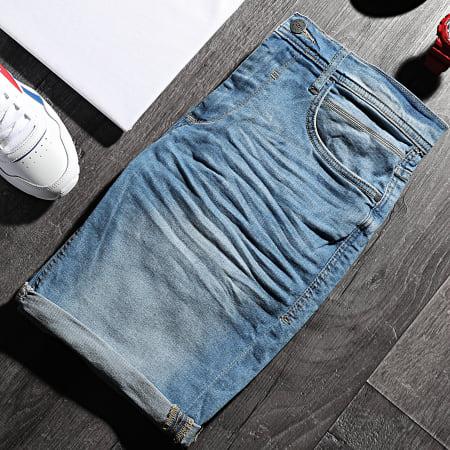 Blend - Short Jean Slim Twister 20711770 Bleu Denim