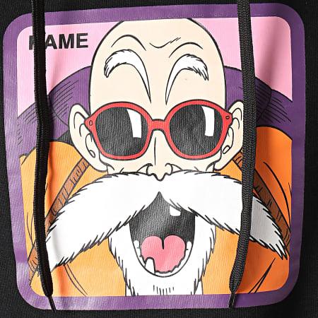 Dragon Ball Z - Sweat Capuche Kame Noir Violet