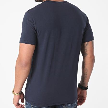 Emporio Armani - Lot De 2 Tee Shirts 111267-1P717 Blanc Bleu Marine
