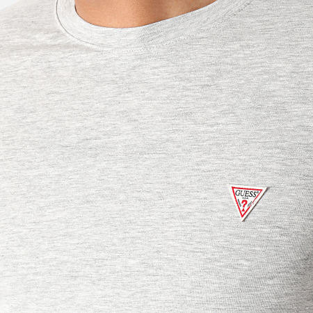 Guess - Tee Shirt M1RI24-J1311 Gris Chiné