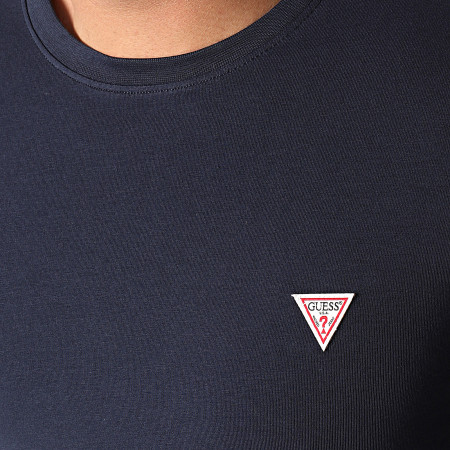 Guess - Tee Shirt Manches Longues M1RI28-J1311 Bleu Marine