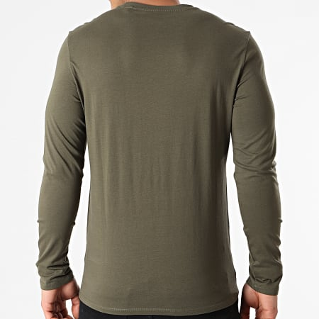 Guess - Tee Shirt Manches Longues M1RI31-I3Z11 Vert Kaki