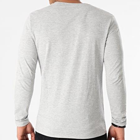 Guess - Tee Shirt Manches Longues M1RI31-I3Z11 Gris Chiné