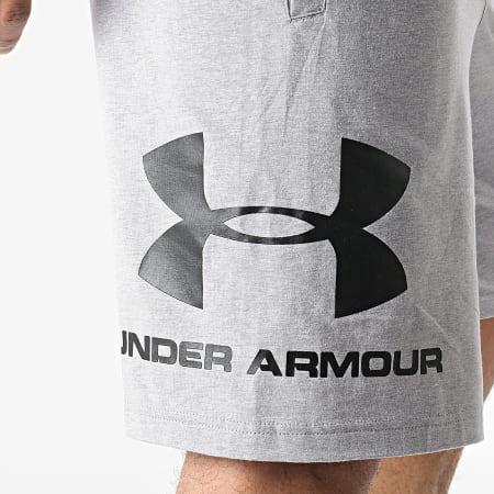 Under Armour - Short Jogging 1329300 Gris Chiné
