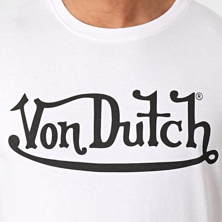 Von Dutch - Tee Shirt First Blanc