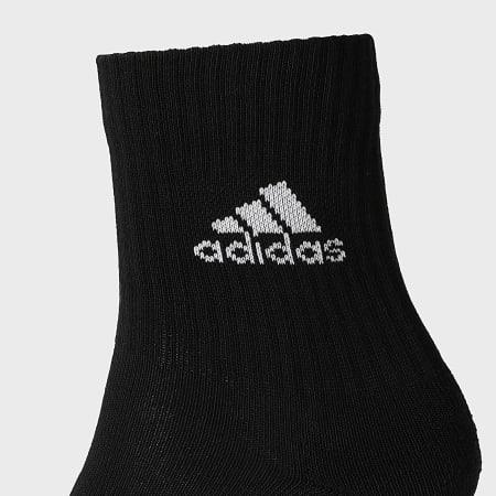 adidas - Lot De 3 Paires De Chaussettes DZ9357 Noir