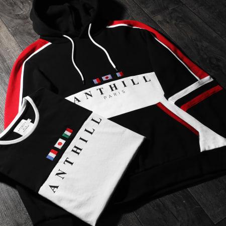 Anthill - Tee Shirt Manches Longues International Blanc
