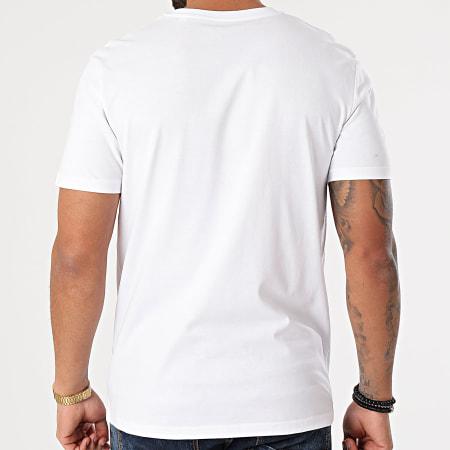 Luxury Lovers - Tee Shirt Gamos Blanc Jaune