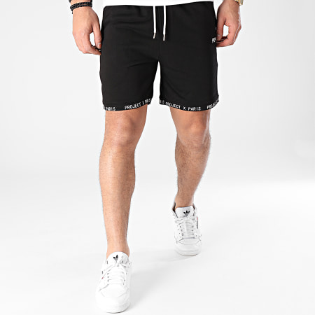 Project X - Short Jogging 2140112 Noir