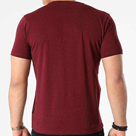 Schott NYC - Tee Shirt TSLOGO Bordeaux