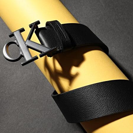 Calvin Klein - Ceinture Mono Plaque 6548 Bleu Marine