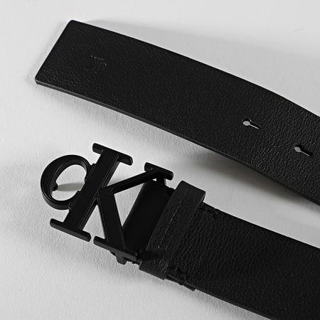Calvin Klein - Ceinture Mono Plaque 6548 Noir