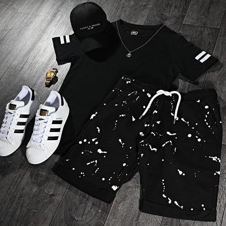 LBO - Short Jogging Speckle 1493 Noir