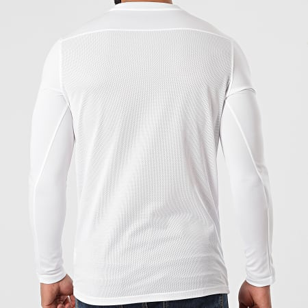 Nike - Tee Shirt De Sport Manches Longues Dry Park VII BV6706 Ecru