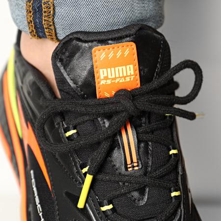 Puma - Baskets Porsche 911 Rs Fast 306773 Puma Black Celandine Carrot