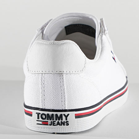 Tommy Jeans - Baskets Femme Essential Lace Up 0786 White
