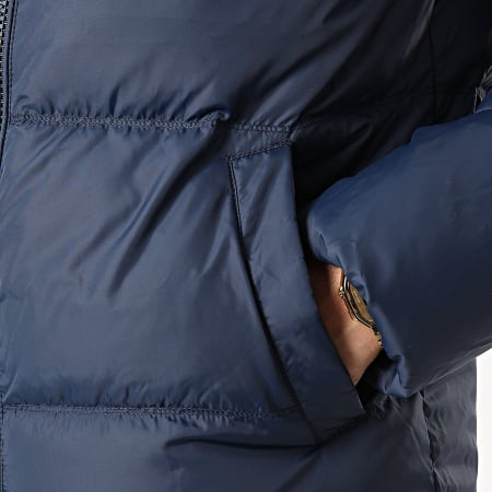 Tommy Jeans - Doudoune Capuche Essential Down 8762 Bleu Marine
