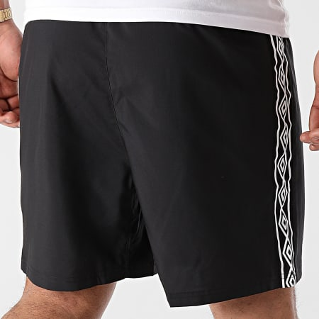 Umbro - Short Jogging A Bandes 647660-60 Noir