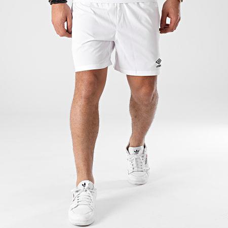 Umbro - Short Jogging A Bandes 647800-60 Blanc