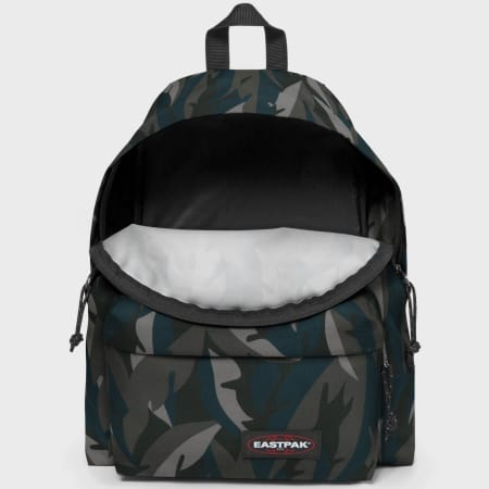 Eastpak - Sac A Dos Padded Pak'r Leaves Gris Anthracite