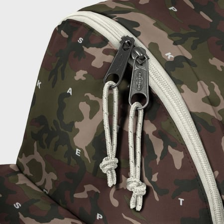 Eastpak - Sac A Dos Padded Pak'r On Top Camouflage Marron